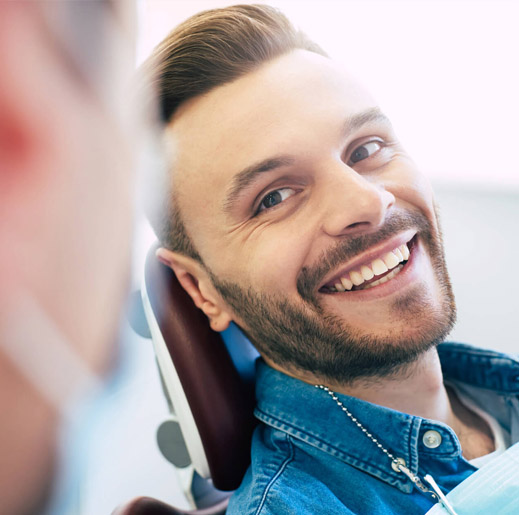 Affordable dental cleanings lead to dazzling smiles and happy patients