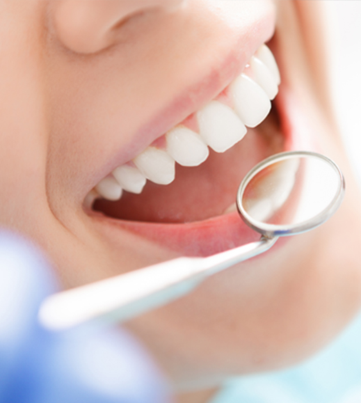 dental checkup to get dental crowns